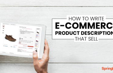 How to write ecommerce product descriptions that sell