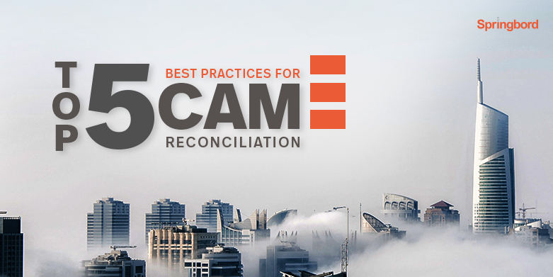 Top 5 best practices for CAM reconciliation