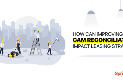 How can improving CAM reconciliation impact leasing strategy?