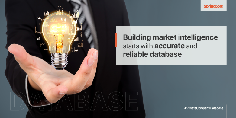 Building market intelligence starts with accurate and reliable database