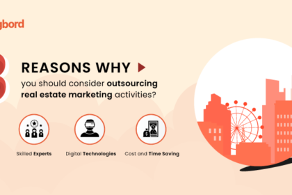 3 reasons why you should consider outsourcing real estate marketing activities