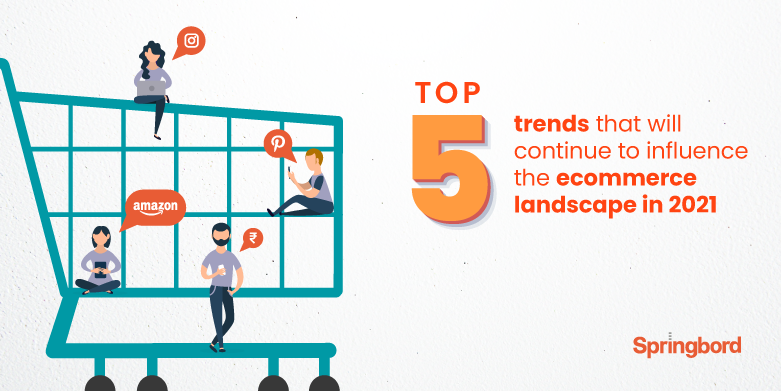 Top 5 trends that will continue to influence the ecommerce landscape in 2021