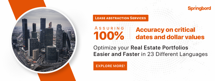 Lease Abstraction Services